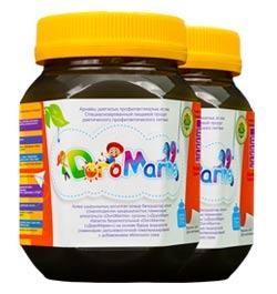 Отличный безопасный помощник в борьбе с паразитами - Доромарин, натуральный лечебно-профилактический продукт для детей